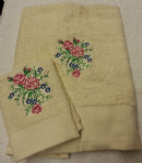 FLOWER 4 PERSONALISED TOWEL SET